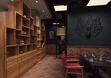 波希米亚风咖啡厅