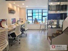 不同于传统的办公室装修的复式办公室