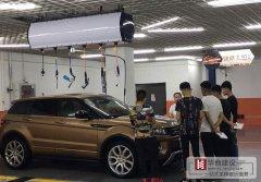 广州洗车店汽车美容维修店如何装修设计?