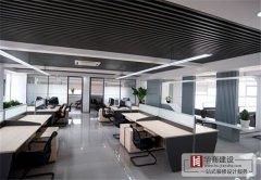 广州办公室隔断装修的按什么来分区