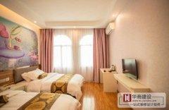 广州宾馆装修一般小型几十个房间成本要多少钱?