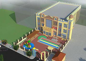 1900平米幼儿园装修项目