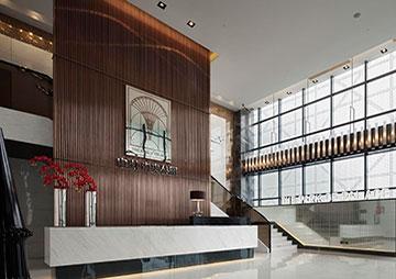 深圳宝安中洲中央公园营销售楼中心