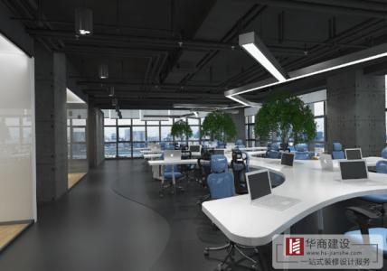 办公室装修运用现代化的元素更出色